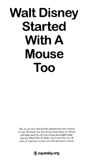 Walt Disney Started With A Mouse Too