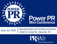 PRSA Buffalo Niagara�s Power PR Mini-Conference