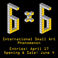 Rochester Contemporary Art Center's 6x6x2016 Art Sale
