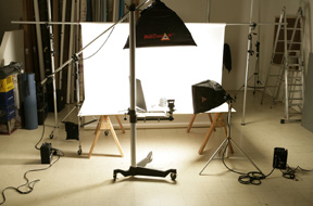 Farr Photo Studio Setup