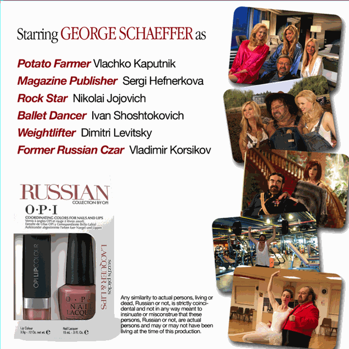 OPI The Russian Collection