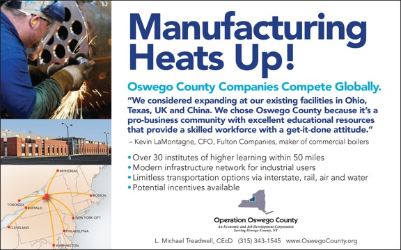 Manufacturing In Oswego County