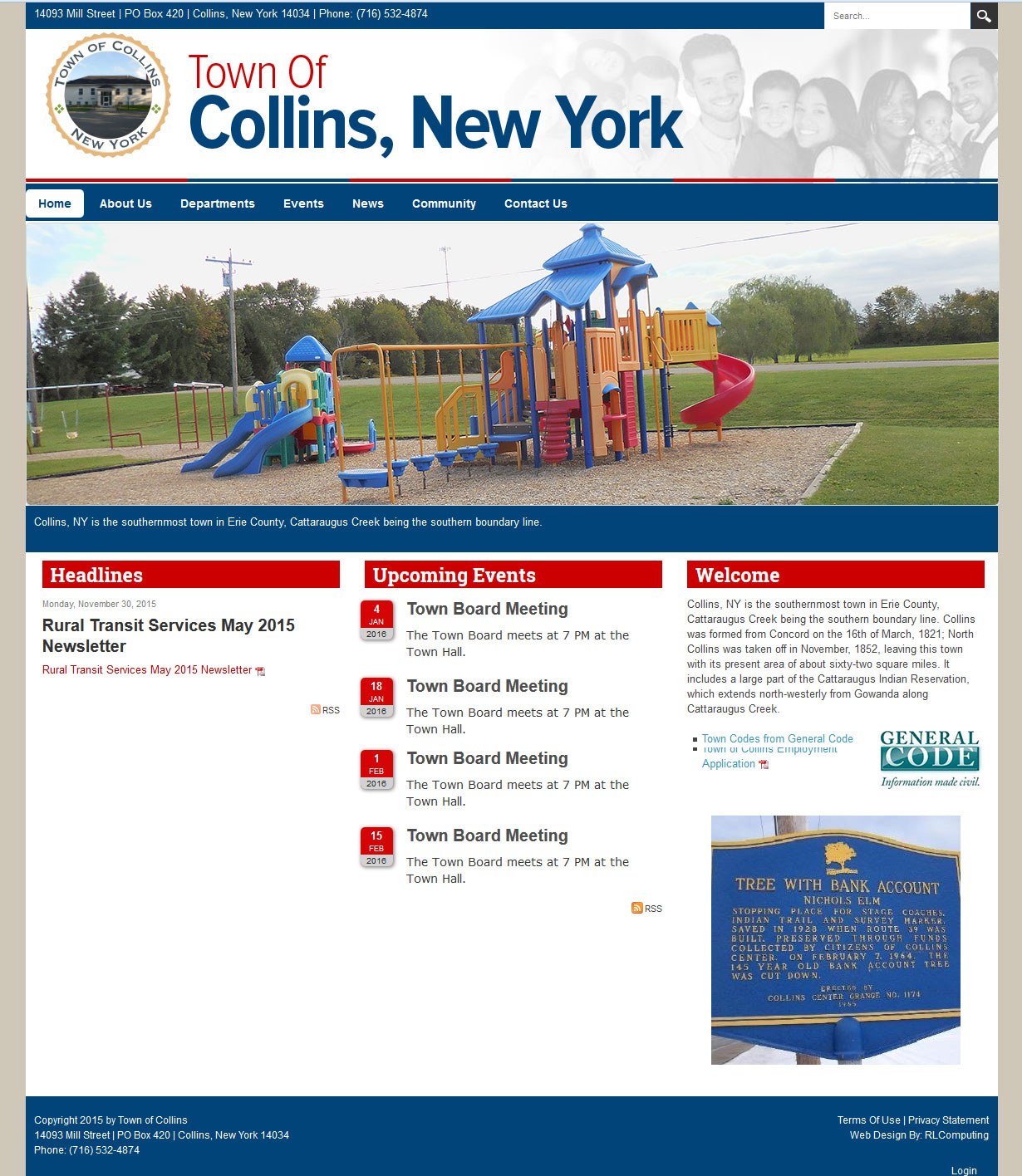 Town of Collins