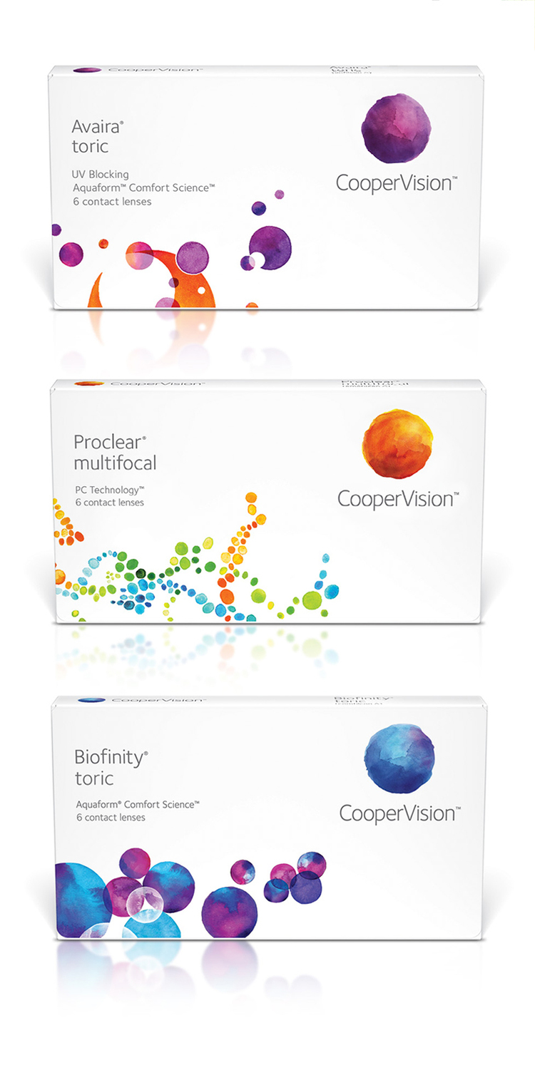 CooperVision Packaging