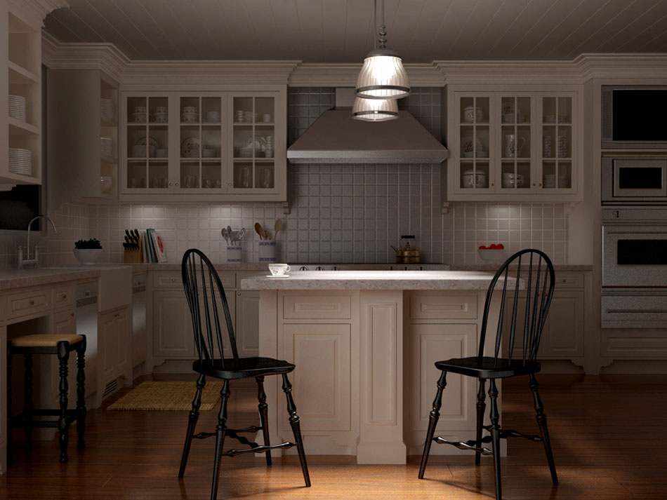 Kitchen: Night