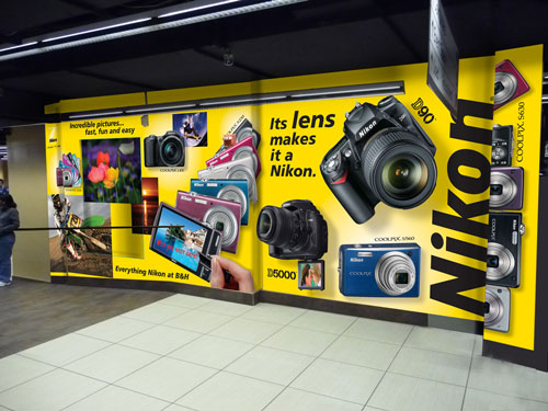 Nikon USA - B&H Store Display