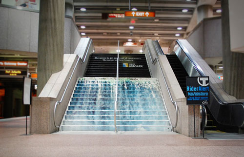 First Niagara Financial Services - Transit Stairway