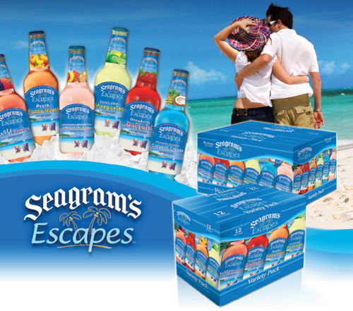 Seagrams Escapes coolers