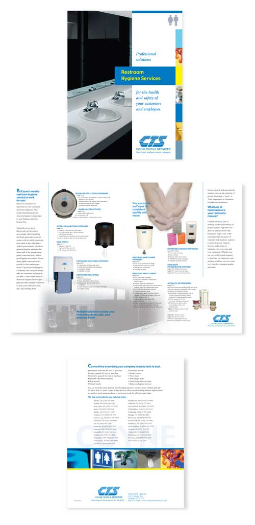Coyne Restroom Products Brochure