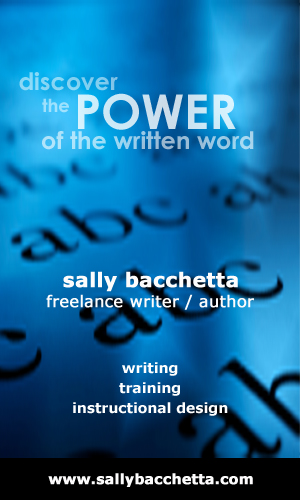 Sally Bacchetta - Freelance Writer / Instructional Designer