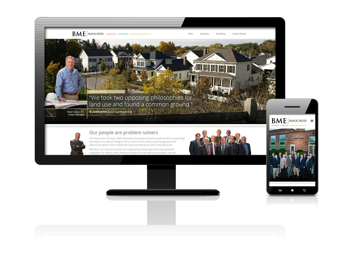 BME Associates website