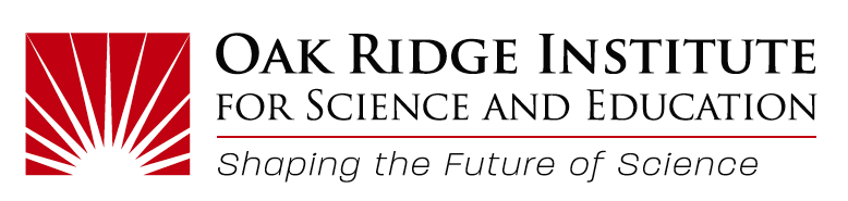 Oak Ridge Institute for Science and Education Logo and Tagline