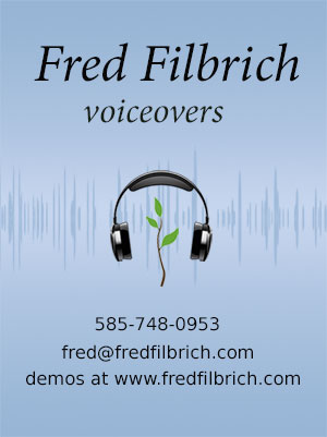 Fred Filbrich - Voiceovers