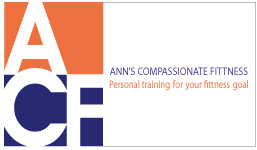 Ann's Compassionate Fitness Business Card