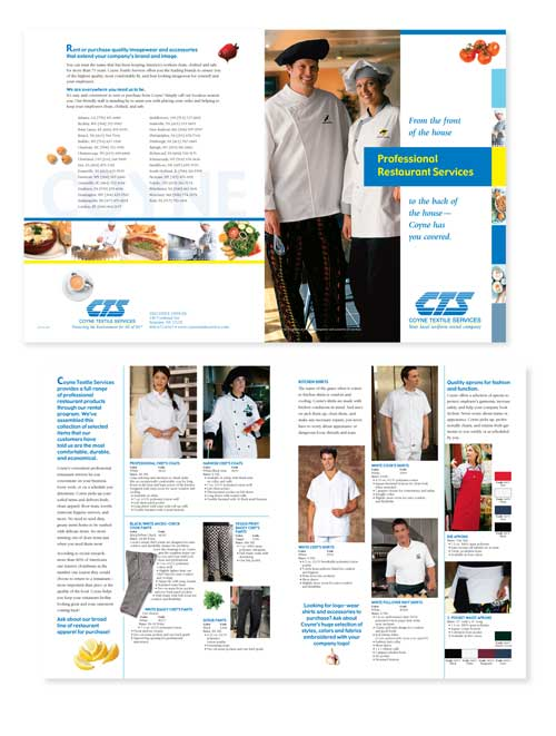 Coyne Restaurant Products Brochure